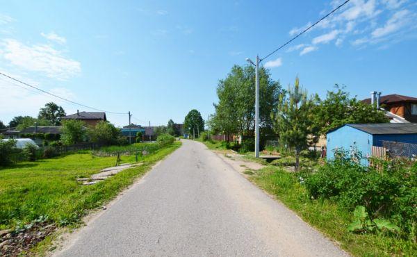 Газифицированный участок в Волоколамске на ул.Советской Армии